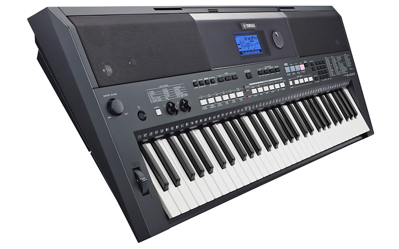 Synthesizer, синтезатор, digital keyboard: yamaha psr-e433
