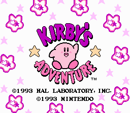 Dendy, nes, famicom, Kirby's Adventure